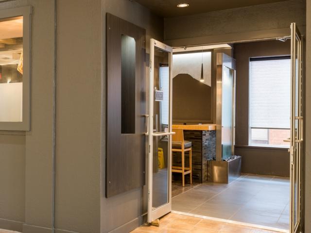 Hojo's Japanese Cuisine interior entrance