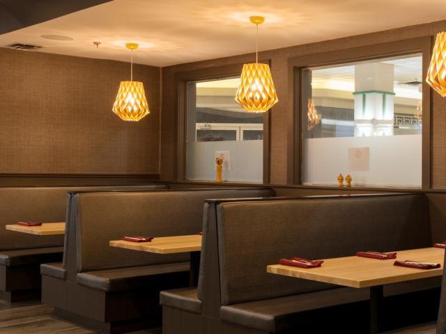 Hojo's Japanese Cuisine booths